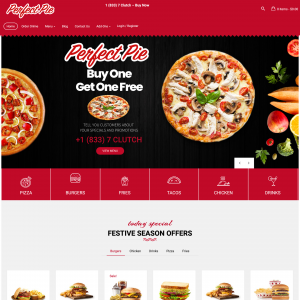 Perfect Pie Pizza Theme